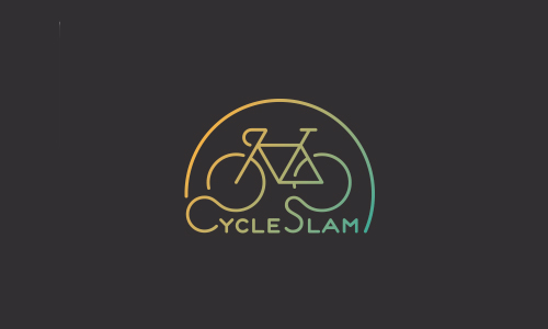 Cycle Slam Logo by Dan Dragomir