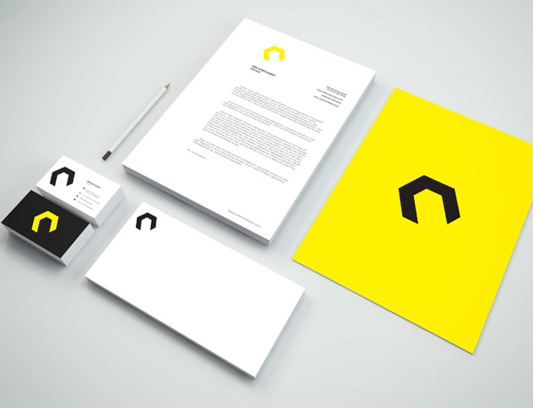 Free Branding Stationery PSD Mockup