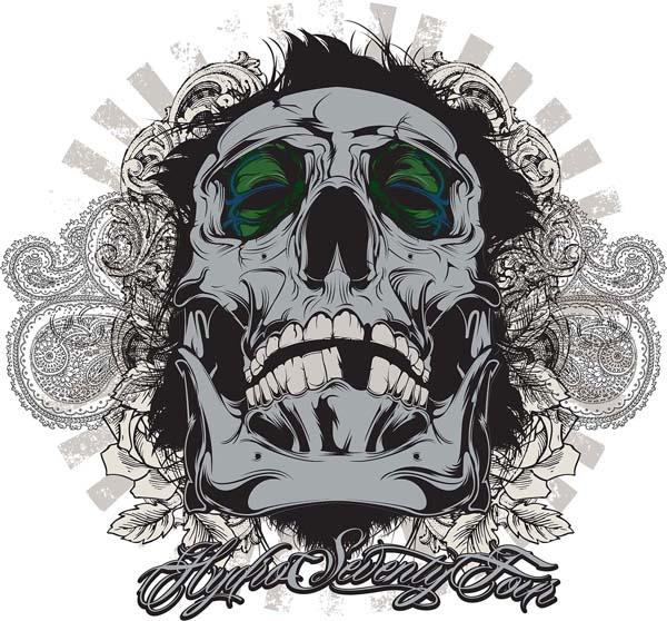 Create Awesome Vector Skull Art in Adobe Illustrator Tutorial