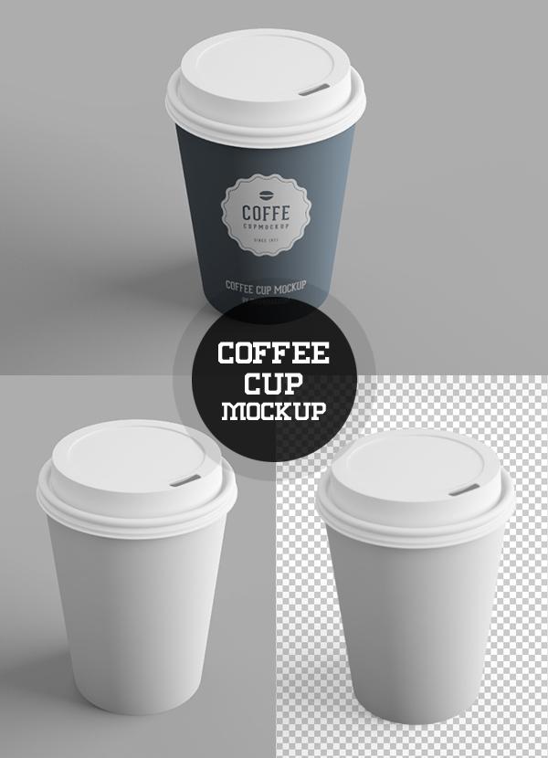 Free Coffee Cup PSD Mockup