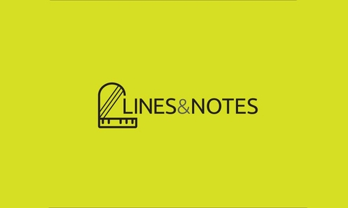 Lines And Notes Logo by Shahriar Emil