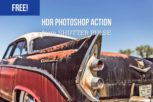 Free HDR Photoshop Action