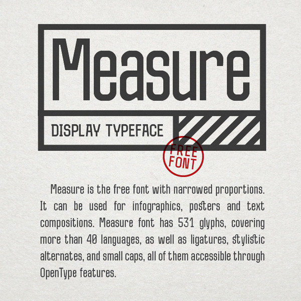 50 Best Free Fonts Of 2015 - 32