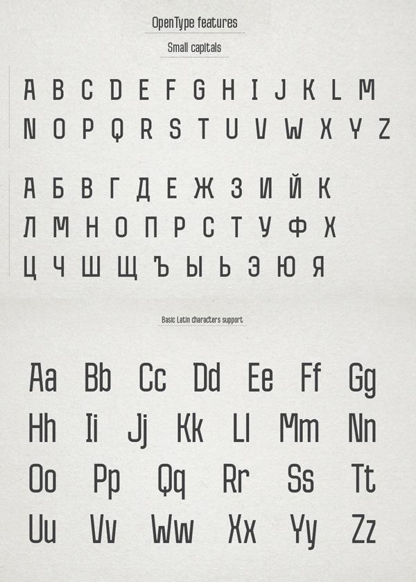 Measure Free Font