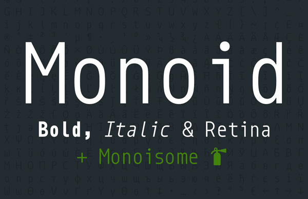 Monoid Font