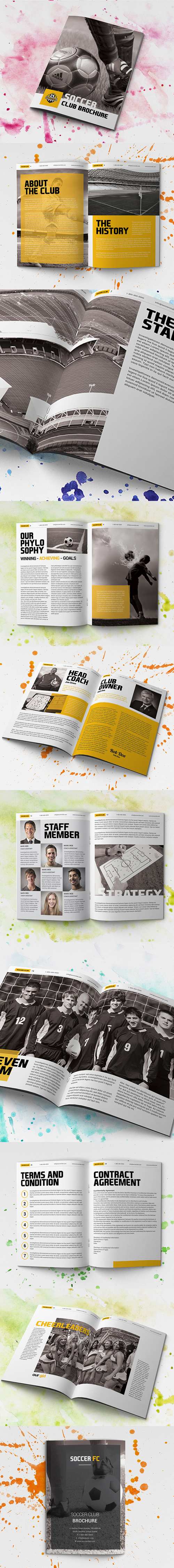 Soccer Club Brochure - Corporate Brochures