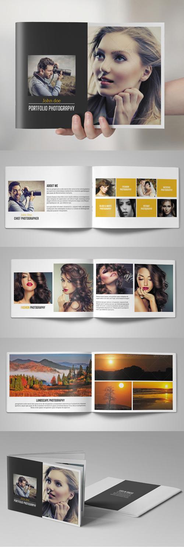 Photography Portfolio Brochure / Catalog Template