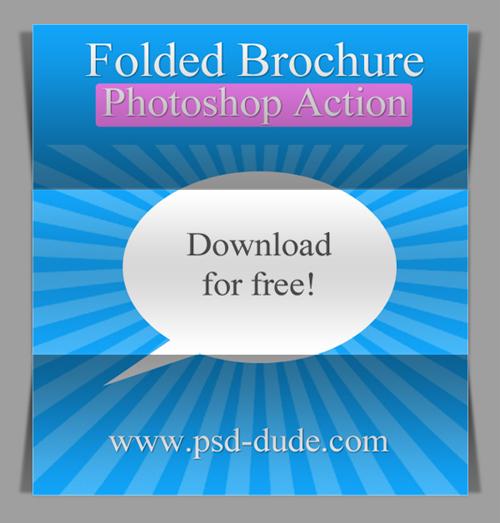 Free Fold Photoshop Action