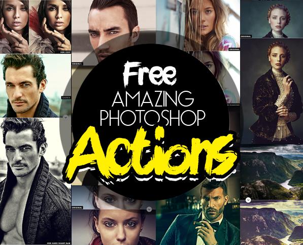 25 Amazing Free Photoshop Actions for Photographers