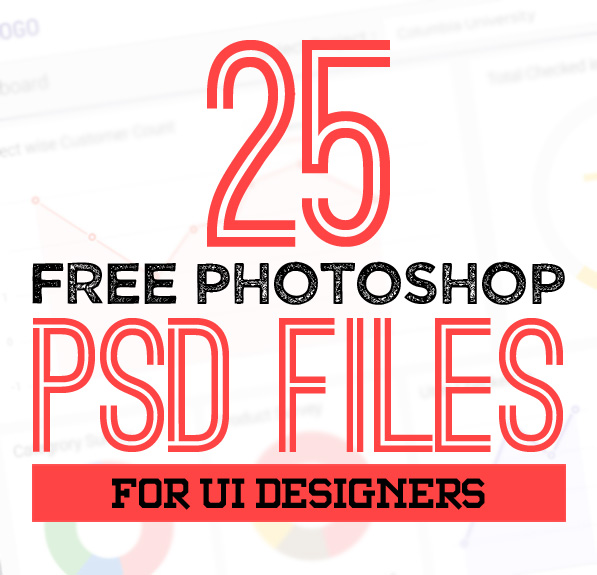 25 New Photoshop Free PSD Files for Graphic Designers