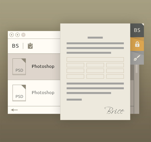 Browser Options Innovative Free PSD