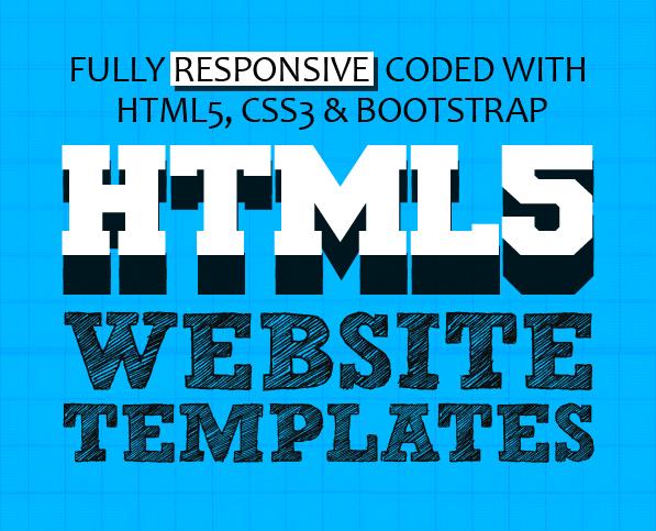 15 New HTML5 Website Templates (PSD & HTML)