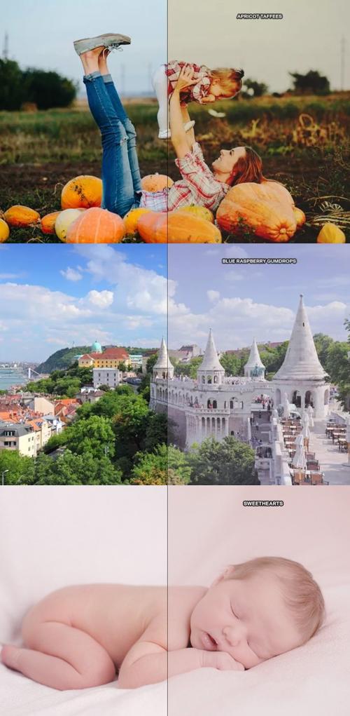 Free 5 Pastel Color Photoshop Actions