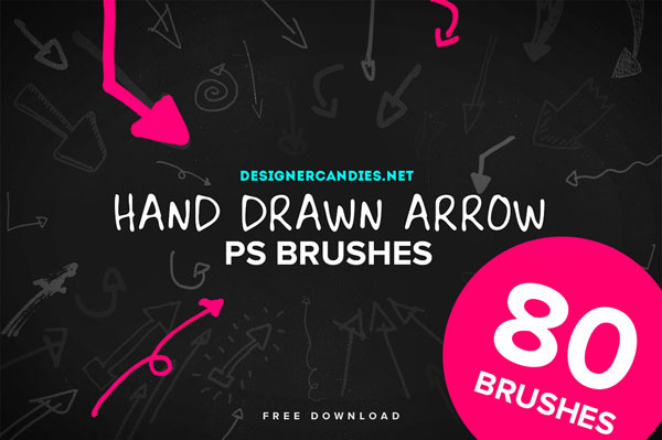 80 Free Hand Drawn Arrows