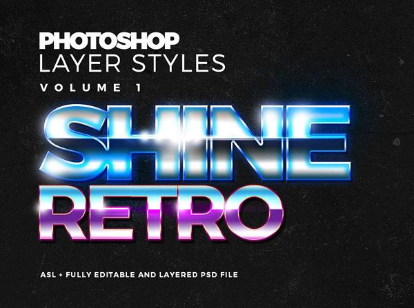 Free Photoshop Text Styles