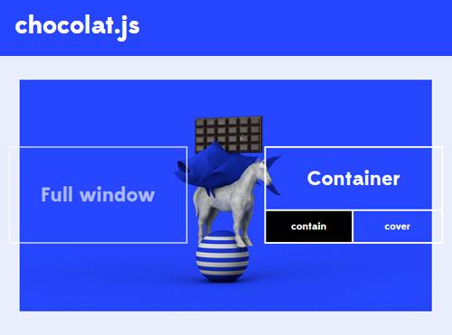 Chocolat.js: Free jQuery Lightbox Plugin