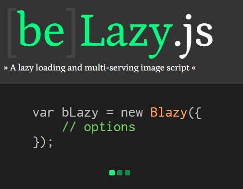 bLazy: Lightweight Lazy Loading Plugin