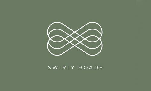 Swirly Roads logo by Michiel Gerbranda