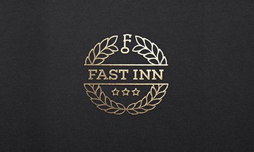 Fast Inn by Logo machine
