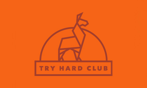 Try Hard Club by David Saunders