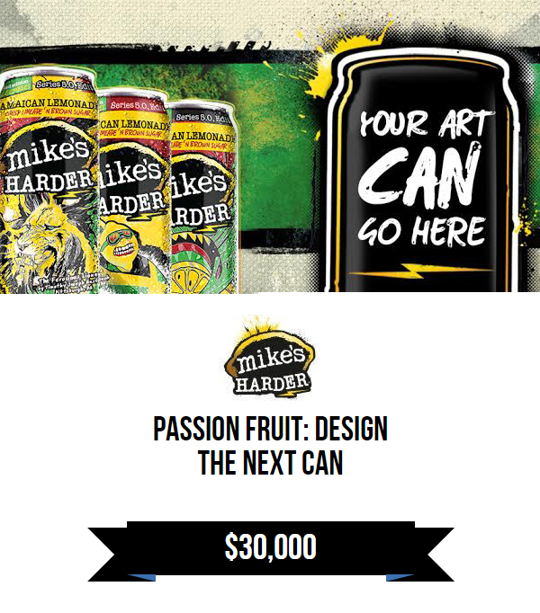 mike's HARDER: Design the Next Can -Passionfruit