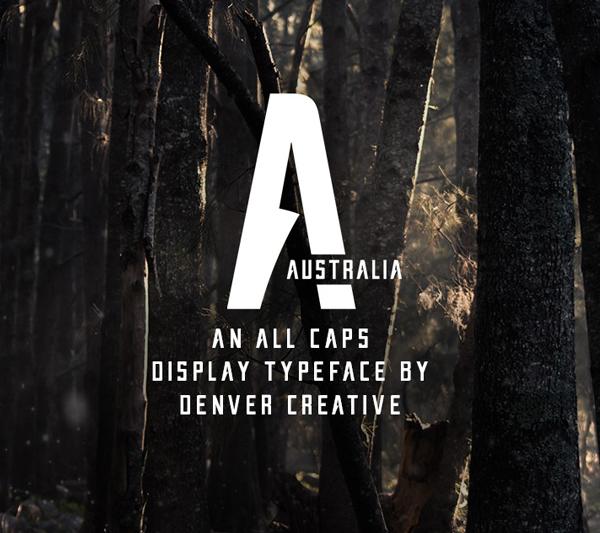 Australia Free Font