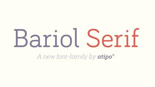 Bariol Serif Free Font