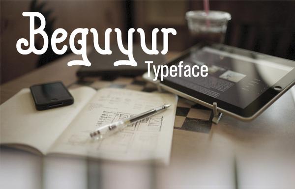 Beguyur Free Font