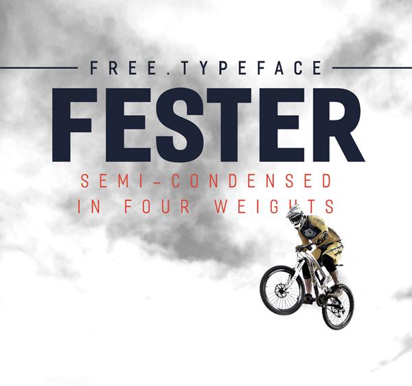 Fester Free Font