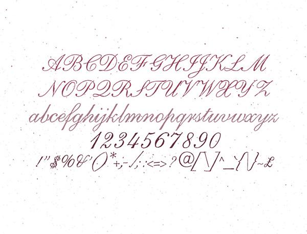 LadyBoy Font Letters