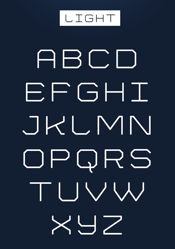 Mylodon Font Letters