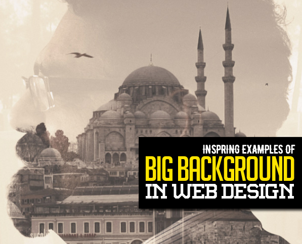 30 New Examples of Responsive Websites with Big Background