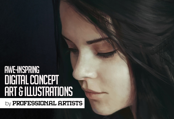 30 Awesome Inspirational Digital Concept Art and Illustrations