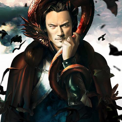 Son of the Dragon Digital Art by KarmaLizzard