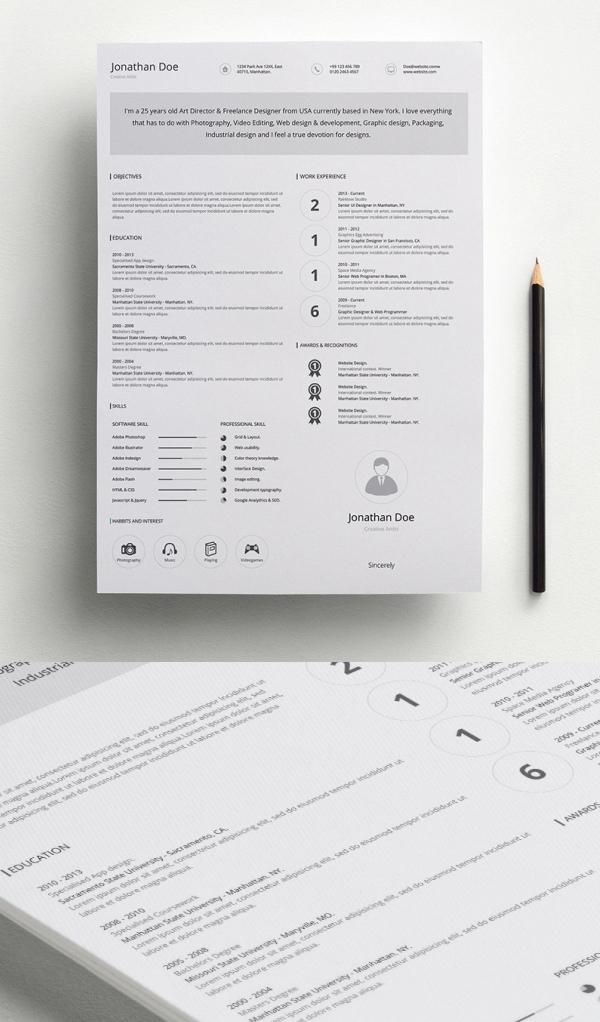 Free Professional Resume Template (AI)