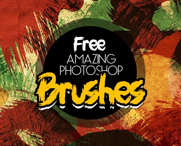 Photoshop Brushes: 250+ New Free Brushes For Designers