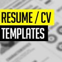 Post thumbnail of 15 Free Elegant Modern CV / Resume Templates (PSD)