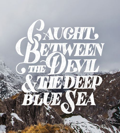 Devil & the Sea by Mark van Leeuwen