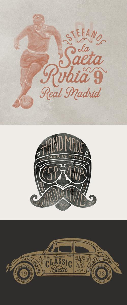 Logos & Typography 2015 by Gonzalo Lebrero