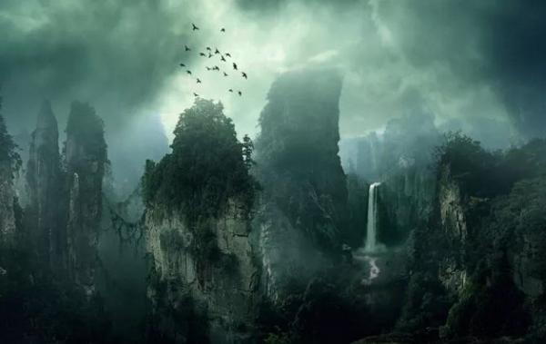 Create This Dark Matte Landscape Composite In Photoshop
