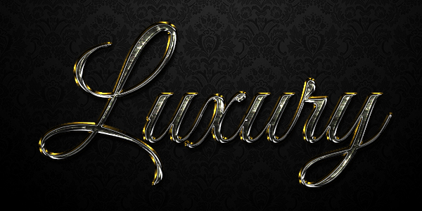 How to Create a Luxurious Text Effect in Adobe Photoshop