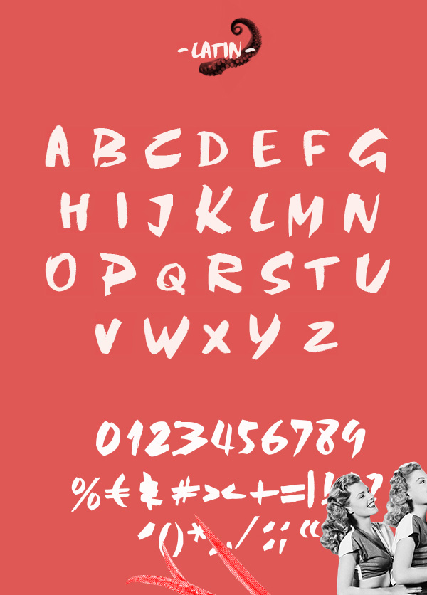 Abys Font Letters