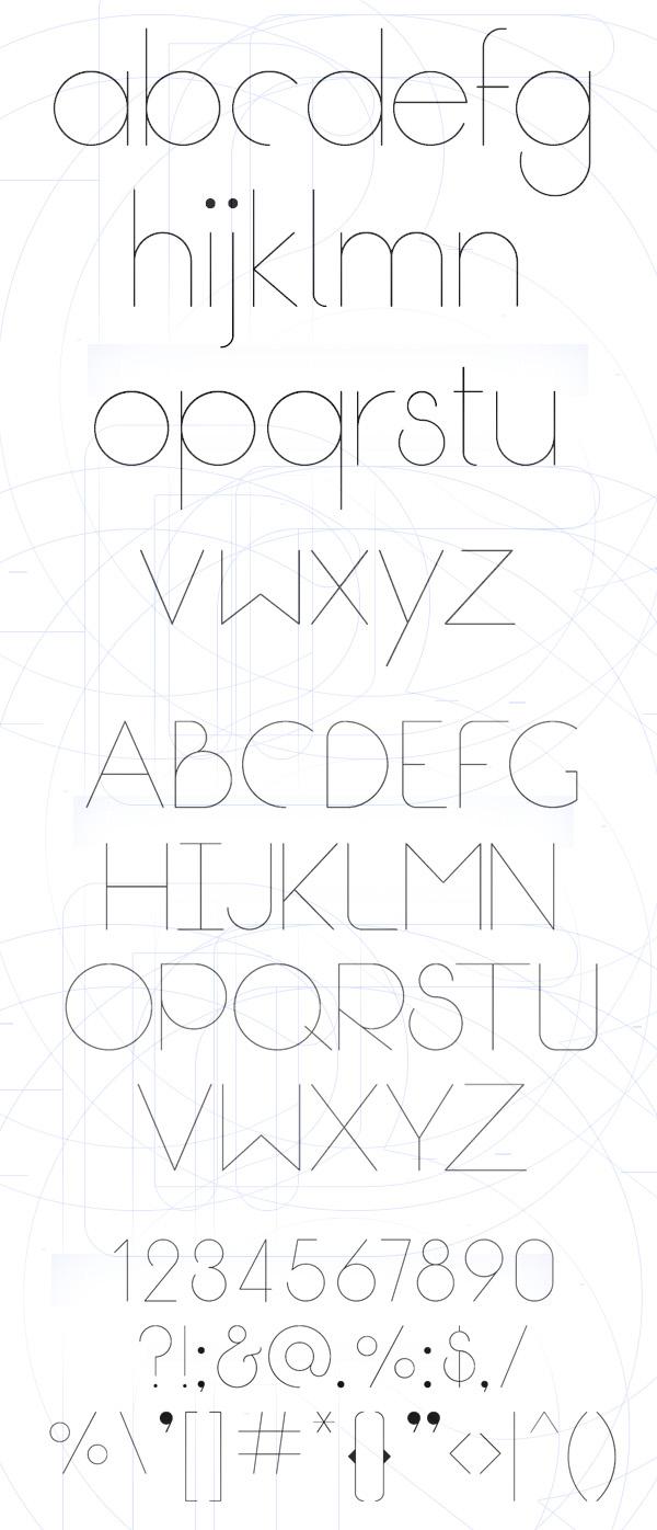 Break Fill Font Letters