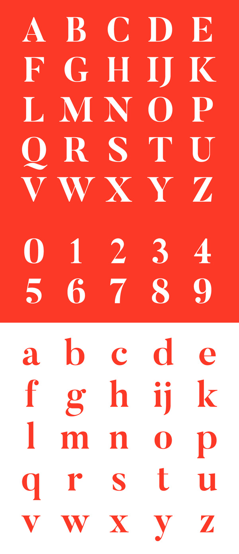 Butler Font Letters