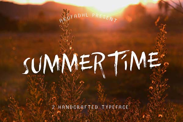 Free Summertime Typeface