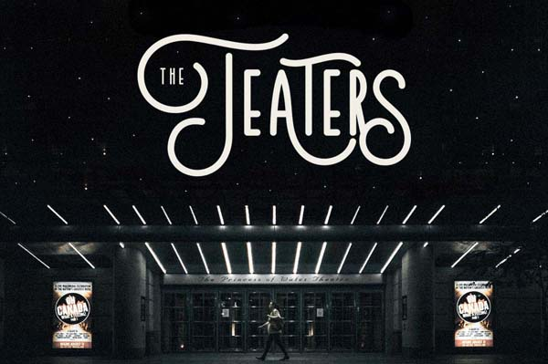 Free  Teaters Typeface