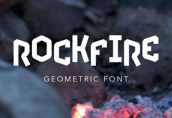 Rockfire Free Font