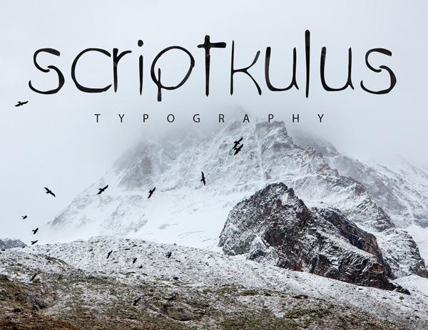Scriptkulus Free Font