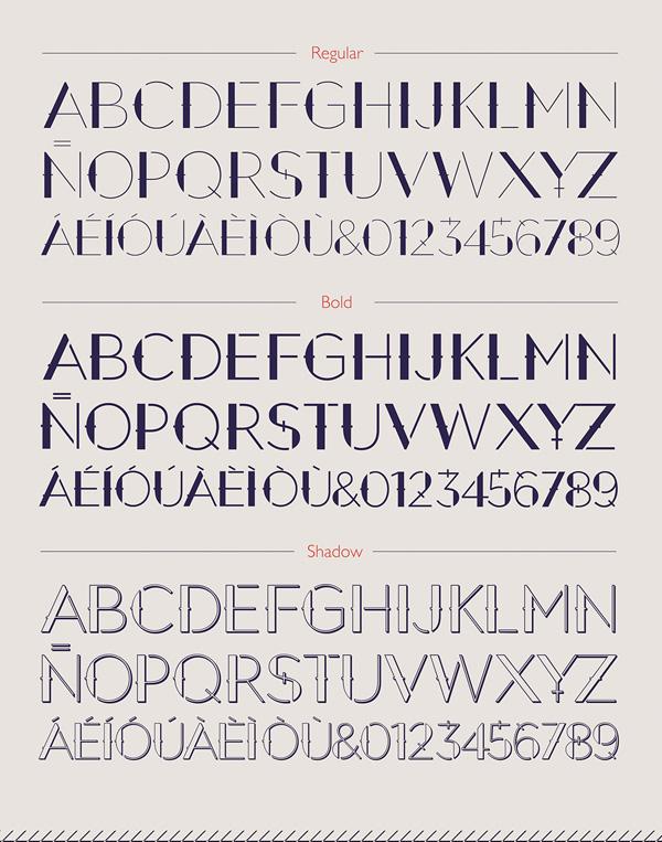 September Font Letters