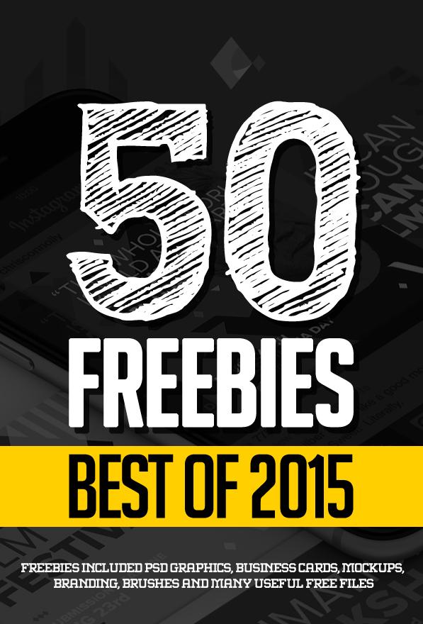 50 Best Freebies of 2015